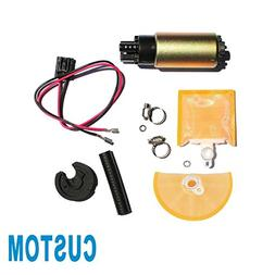 CUSTOM 1pc New Electric Intank Fuel Pump With Installation K