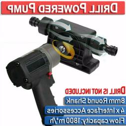 Electric Powered Drill Pump  Water Oil Diesel Liquid Fuel Tr