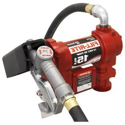 Tuthill FR1210G 12-Volt Cast Iron Fuel Transfer Pump - Quant