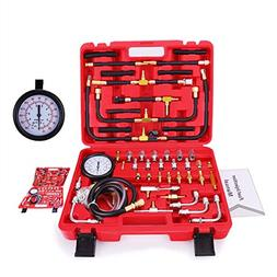BETOOLL Pro Fuel Injection Pressure Tester Kit Gauge 0-140 P