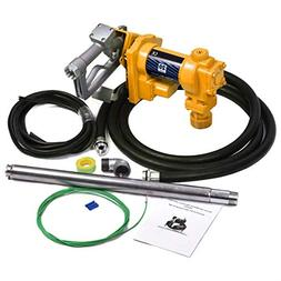 Giantex Gasoline Fuel Transfer Pump 12 Volt DC 20GPM Gas Die
