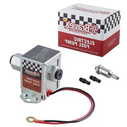 Bravex Inline Electric Fuel Pump Universal DC 12V Low Pressu
