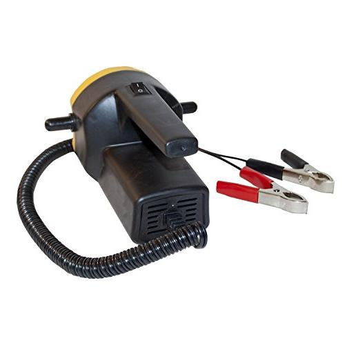 ALEKO 12V 8A 100W Oil Diesel Extractor Suction Hose and Handle ON/OFF Switch