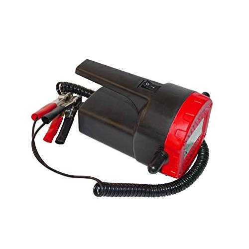 ALEKO 8A 100W Oil Suction Transfer Pump with Hose Handle ON/OFF