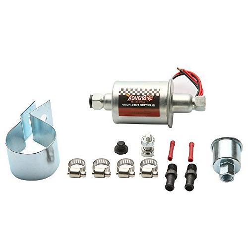 Bravex Electric Fuel Pump 5-9 12V Kit