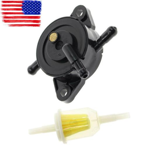 Fuel Pump & Filter for 49040-7008 Kawasaki FR541V FR600V FR6
