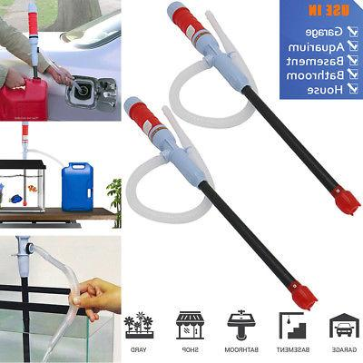 Handheld Liquid Transfer Gas Oil Fish Tank Siphon Water Pump