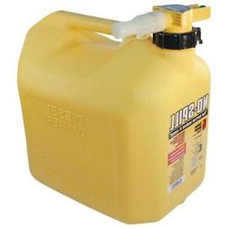 No-Spill 5-Gallon Poly Diesel Can  - No-Spill LLC - 1457